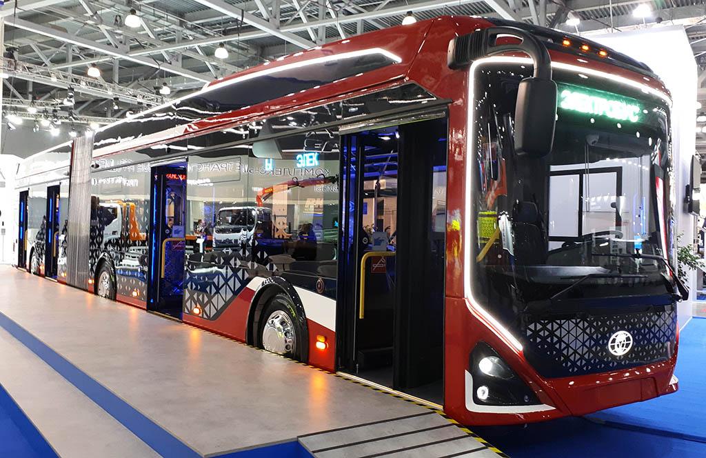 сочлененный электробус 6245 «Пионер max»