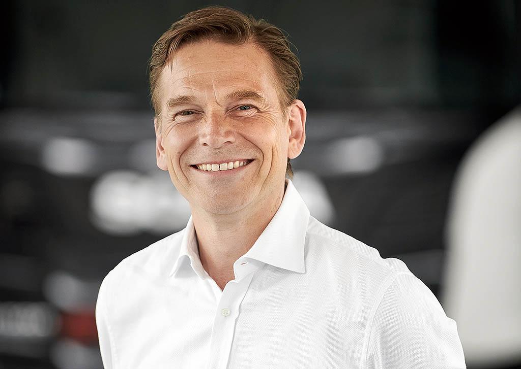 Кристиан Левин президент и генеральный директор TRATON GROUP