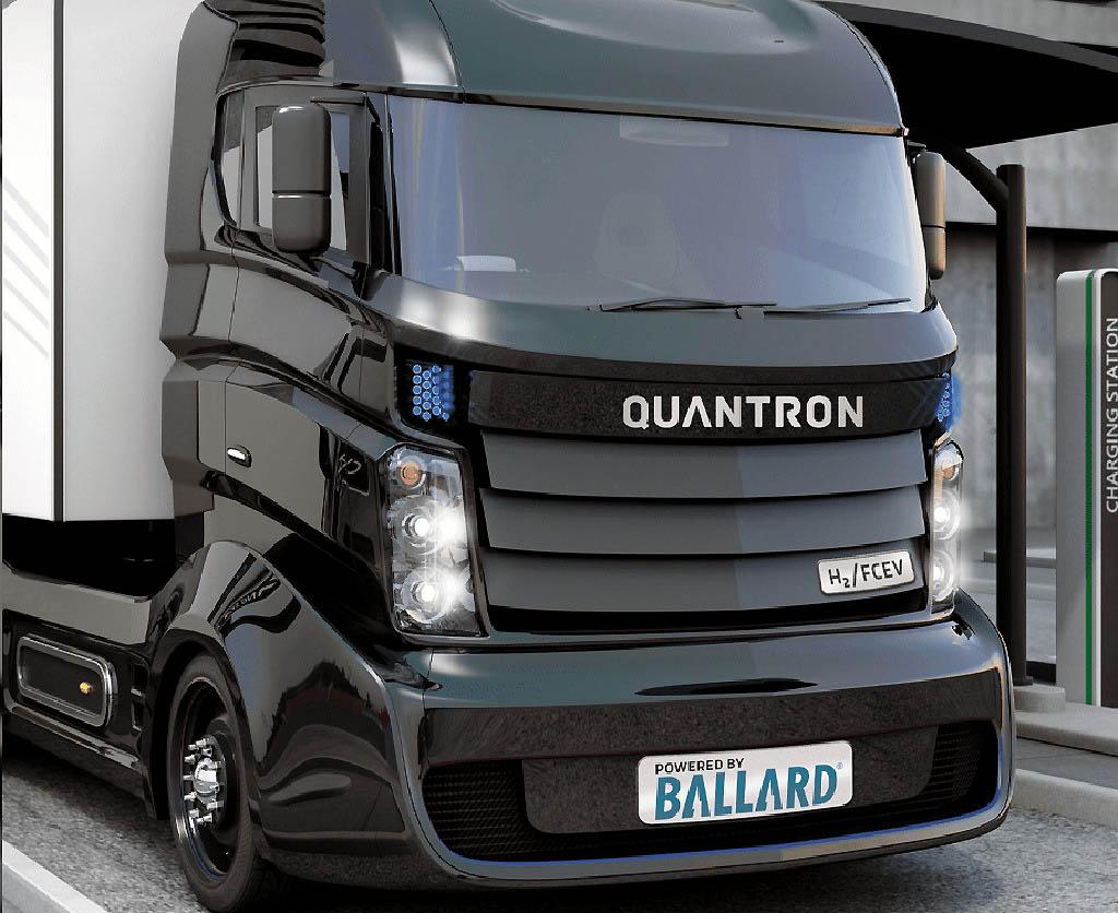 Quantron и Ballard намерены совместно делать электрогрузовики